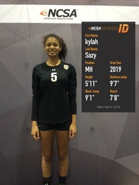 Kylah Sazy's Women's Volleyball Recruiting Profile