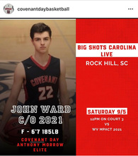 John Ward's Men's Basketball Recruiting Profile