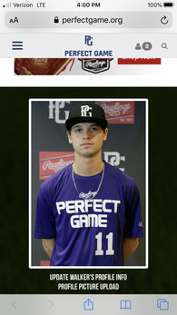 Walker Pedante's Baseball Recruiting Profile