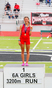 Cayden Dawson Women's Track Recruiting Profile