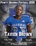 Tavion Brown Men's Basketball Recruiting Profile