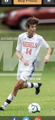 Brendan Donahue's Men's Soccer Recruiting Profile