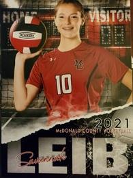 Savannah Leib's Women's Volleyball Recruiting Profile