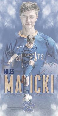Miles Malicki's Men's Soccer Recruiting Profile