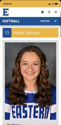 Keeley Johnson's Softball Recruiting Profile