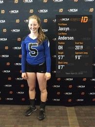 Jaxsyn Anderson's Women's Volleyball Recruiting Profile