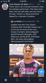 Chandler Powers's Football Recruiting Profile