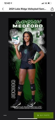 Sa'Myah Medford's Women's Volleyball Recruiting Profile