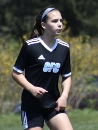 Claire Saunders's Women's Soccer Recruiting Profile