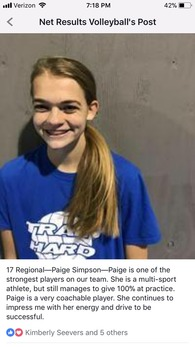 Paige Simpson's Women's Volleyball Recruiting Profile