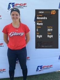 Alexandra Mantz's Softball Recruiting Profile