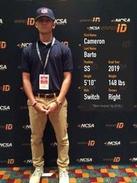 Cameron Barto's Baseball Recruiting Profile