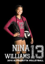 Nina-Symone Williams's Women's Volleyball Recruiting Profile