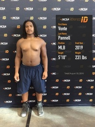 Vonte Pannell's Football Recruiting Profile