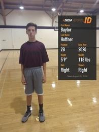Baylor Hoffner's Baseball Recruiting Profile