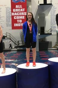 Veronica Lantz's Women's Swimming Recruiting Profile