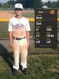 Derek Clark's Baseball Recruiting Profile