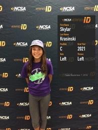 Skylar Krasinski's Softball Recruiting Profile