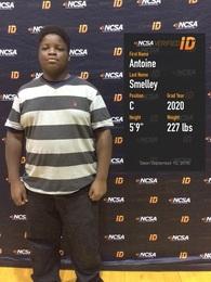 Antoine Smelley's Football Recruiting Profile