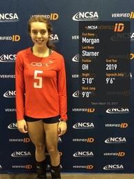 Morgan Starner's Women's Volleyball Recruiting Profile
