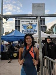 Maxine Catig's Women's Swimming Recruiting Profile
