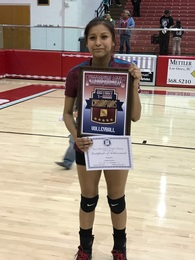 Chamika Begaye's Women's Volleyball Recruiting Profile