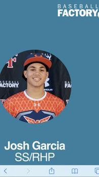 Joshua Garcia's Baseball Recruiting Profile