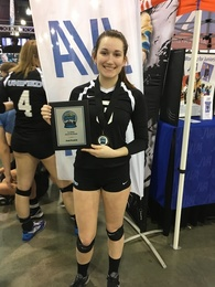Kelsie Vanitvelt's Women's Volleyball Recruiting Profile