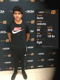 Hector Ledesma's Men's Soccer Recruiting Profile