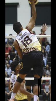 Aidan McDonald's Men's Volleyball Recruiting Profile