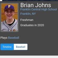 Brian Johns's Baseball Recruiting Profile