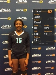 Jamie Russell's Women's Volleyball Recruiting Profile