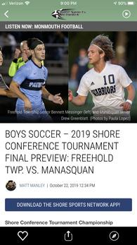 Drew Greenblatt's Men's Soccer Recruiting Profile