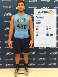 Cameron Jones's Football Recruiting Profile