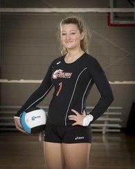 """Madeleine """"Mattie"""" Casto's Women's Volleyball Recruiting Profile"""