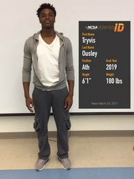 Tryvis Ousley's Football Recruiting Profile