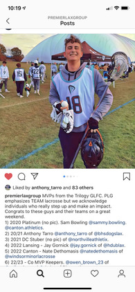 Anthony Tarro's Men's Lacrosse Recruiting Profile