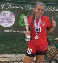 Faith Webber's Women's Soccer Recruiting Profile