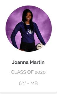 Johanna Martin's Women's Volleyball Recruiting Profile
