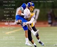 Asher Pilanca's Football Recruiting Profile