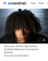Jerrick Dickson's Football Recruiting Profile