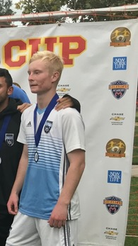 Kallen Love's Men's Soccer Recruiting Profile