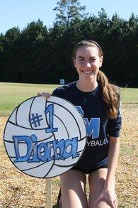 Diana Enriquez's Women's Volleyball Recruiting Profile