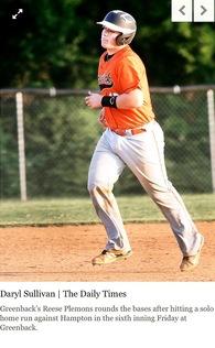 REESE PLEMONS's Baseball Recruiting Profile