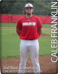 Caleb Franklin's Baseball Recruiting Profile