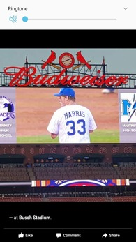 Zavier Harris's Baseball Recruiting Profile