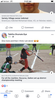 Jade Torres's Softball Recruiting Profile