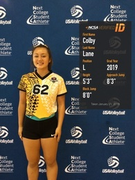 Colby Lane's Women's Volleyball Recruiting Profile