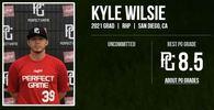 Kyle Wilsie's Baseball Recruiting Profile