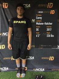 Corey Malone-Hatcher's Football Recruiting Profile